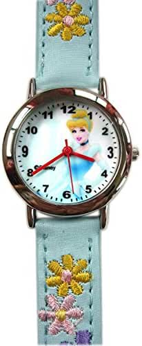 Blue Disney Cinderella Watch / Embroiderered Band