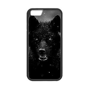 "Black Wolves New Fashion Case for Iphone6 Plus 5.5"", Popular Black Wolves Case"