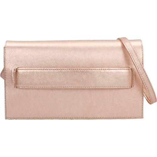 de para Rosa Mujer Color Bolsos Rosa UNISA Modelo Hombro Shoppers Shoppers Mujer para Marca UNISA Rosa Y LMT ZDIVA Bolsos Hombro De y EASFyq11Wf