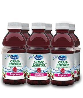 9 Ounce Juice (Ocean Spray Cran-Energy, Cranberry Raspberry Energy Juice Drink 6-10 oz Bottles (Pack of)