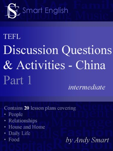 Download Smart English – TEFL Discussion Questions & Activities – China: Teacher's Book Part 1 (First Edition) Pdf