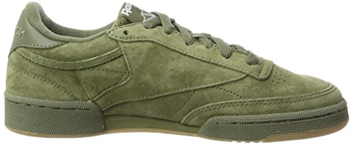 Vert Sneakers Green Sg Basses Club 85 C hunter gum white Reebok Homme w0q6B7S6