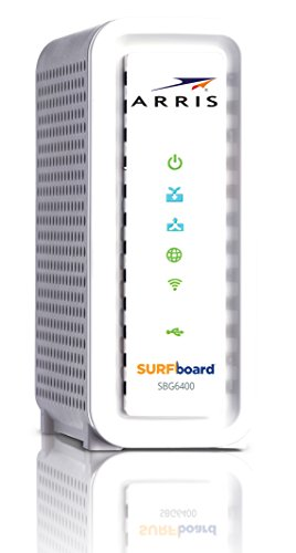 ARRIS SURFboard SBG6400 DOCSIS 3.0 Cable Modem/ Wi-Fi N Router - Retail...
