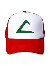 Pokeman Ash Ketchum Trucker Adjustable Mesh Hat