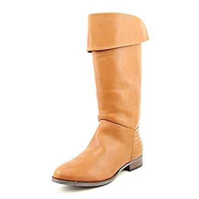 Image Unavailable. Image not available for. Color: Chinese Laundry Women's  First Love Cognac Smooth Boot ...