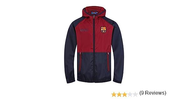 FCB FC Barcelona - Chaqueta Cortavientos Oficial - para niño ...