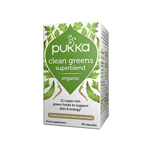 Pukka Herbs Clean Greens Organic Supplement, Pack of 60