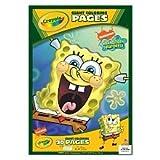 Crayola Giant Coloring Pages - Spongebob Squarepants