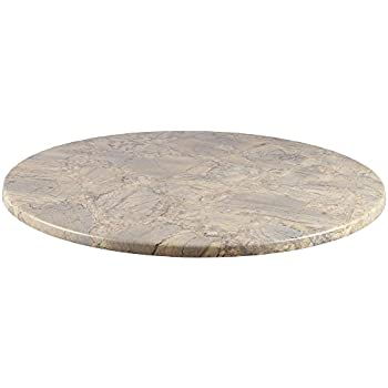 Duratop 36u0027u0027 Round Table Top In Marble