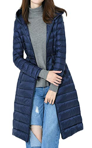 Thickened Down Winter with Women's security Hoodie Jacket Coats 1 Long IqTtgwvS