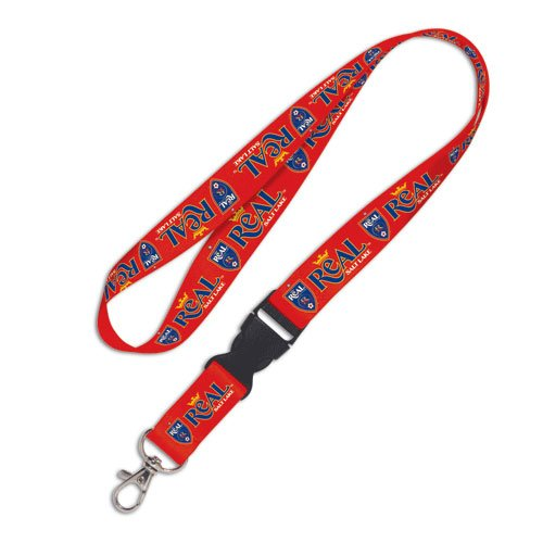 - WinCraft Soccer Real Salt Lake Lanyard with Detachable Buckle, 3/4