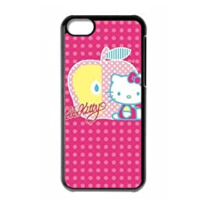 Hello Kitty Polka Dots & Apple iPhone 5c Cell Phone Case Black DIY TOY xxy002_878115