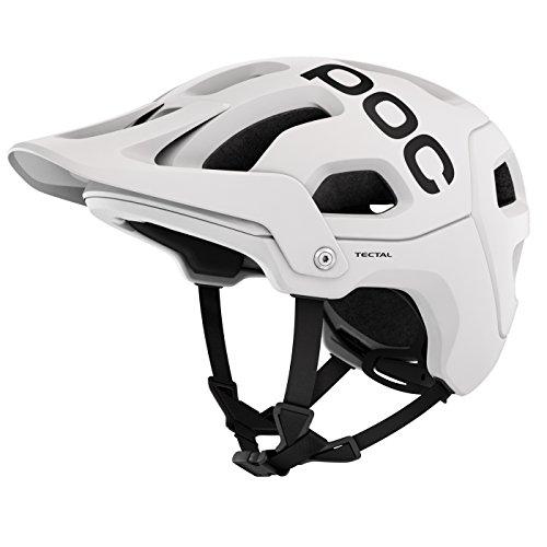 POC Tectal Bike Helmet, Hydrogen White, Medium/Large