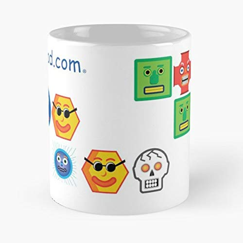 Snood Game Jake Zod Coffee Mugs Unique Ceramic Novelty Cup]()
