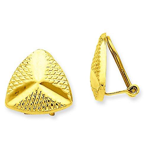 14k Non-Pierced Fancy Earrings by Shop4Silver