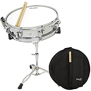 mendini by cecilio student 14 inch snare drum set with soft case drum sticks and. Black Bedroom Furniture Sets. Home Design Ideas