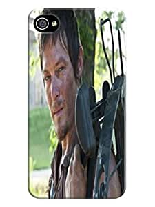 Crystal clear reveal iphone 4/4s of The Walking Dead Daryl Dixon in Fashion E-Mall tpu case by mcsharks