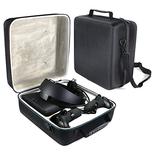 HissKong Hard Travel Case for Oculus Rift S PC-Powered VR Gaming Headset - Carrying Case Protective Bag (Black)