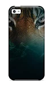 FXTyVLf2878MTKQF Frances T Ferguson Awesome Case Cover Compatible With Iphone 5c - Tiger Images