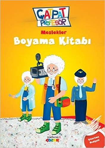 Catpat Profesor Meslekler Boyama Kitabi 9786055207670 Amazon