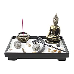 Tabletop-Zen-Garden-Buddha-Rock-Rake-Sand-Candle-Incense-Burner-Home-Decor-Gift