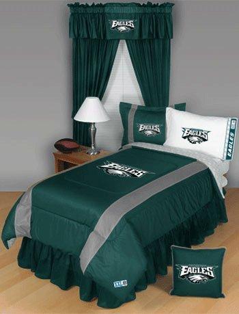 NFL Philadelphia Eagles Twin Sideline (Sidelines Twin Comforter)