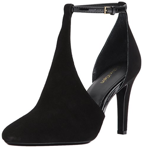 Calvin Klein Women's Cherilyn Pump, Black, 8.5 Medium US by Calvin Klein