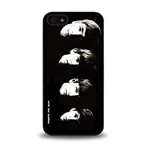 iPhone 5 5S case protective skin cover with forever rock band The Beatles cool poster design #3