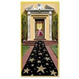 Beistle 57653 Gold Star Runner, 24-Inch by 10-Feet