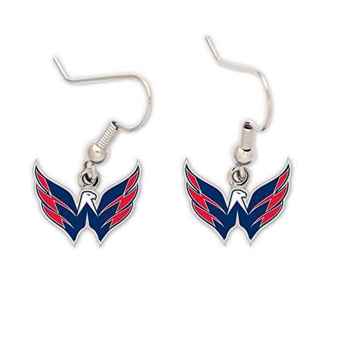 NHL Washington Capitals 43109010 Earrings Jewelry (Washington Capitals Merchandise)