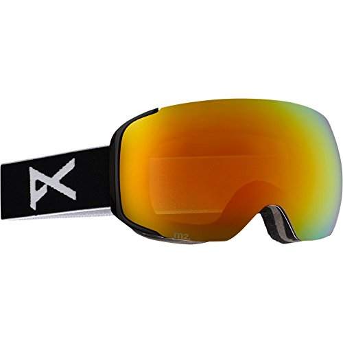 Anon M2 Goggle Black/Red Solex, One - Goggles M2 Anon