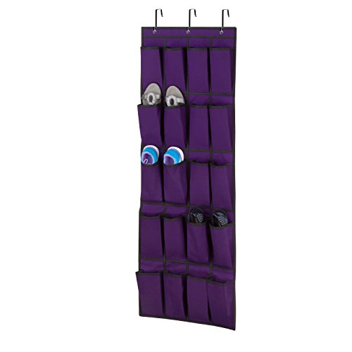Honey Can Do SFT 05242 Pocket Organizer Purple