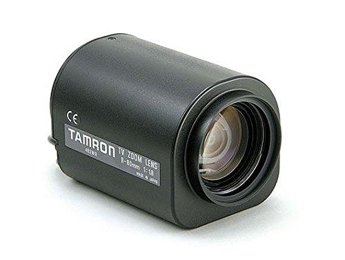 "Tamron 12PZM10X8 1/2"" 8-80mm F1.8 Motorized Zoom, Focus & Iris (3-Motor) C-Mount Lens"