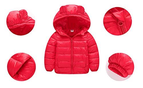 8a00c7b16bd22 Mornyray ベビー服 ダウンコート ダウンジャケット アウターウエア 防寒 保温 軽量 女の子 男の子 赤ちゃん 0-