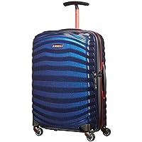 Samsonite - Lite Shock Sport 55cm Small Spinner Suitcase - Nautical Blue/Red