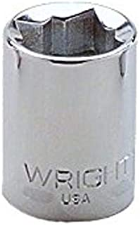 "product image for Wright Tool 3318 3/8"" Drive Special 8 Point Standard Socket, 9/16"""