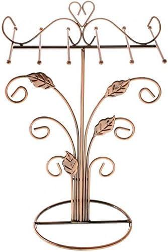 Schmuckständer mit Haken, rich copper, (H) 33 x (l) 20 x (P) 14,5