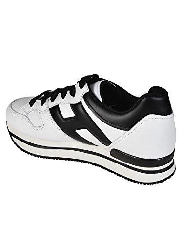 Hogan Sneaker H222 In Pelle Bicolori Bianco Hxw2220t548kla