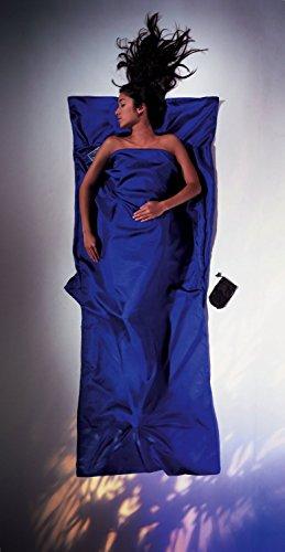 Cocoon Silk TravelSheet (Ultra Blue, 86-Inch x 35-Inch)