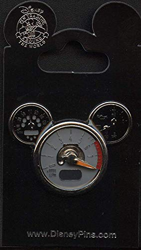 (Disney Pins - Mickey Mouse Icon - Tachometer - Pin 46886)