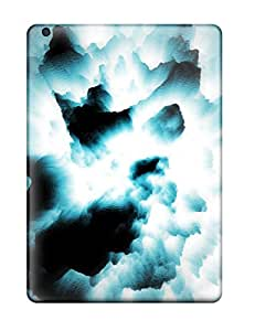 New Style Case Cover BGBHOLG5562IWGyd Black Artistic Blue Explosion Abstract Artistic Compatible With Ipad Air Protection Case wangjiang maoyi