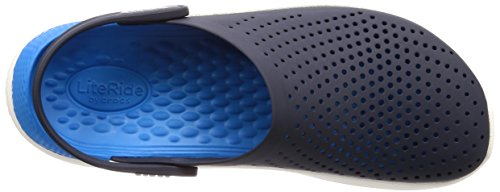Crocs LiteRide White Navy Clog Unisex 5rwA5