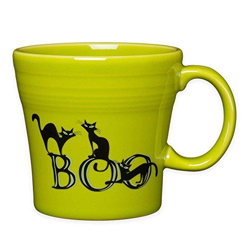Fiesta Halloween Trio of Boo Cats Tapered Mug in (Fiesta Halloween)