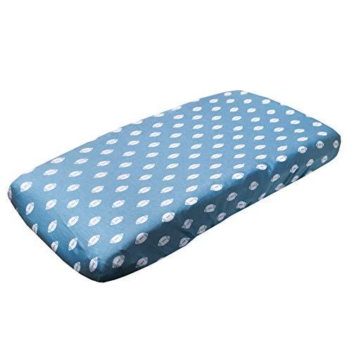 "Premium Knit Diaper Changing Pad Cover""Quarterback"" by Copper Pearl"