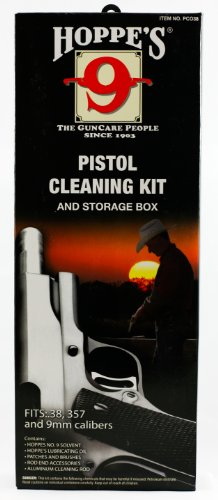 Hoppes-No-9-Cleaning-Kit-with-Aluminum-Rod-38357-Caliber-9mm-Pistol