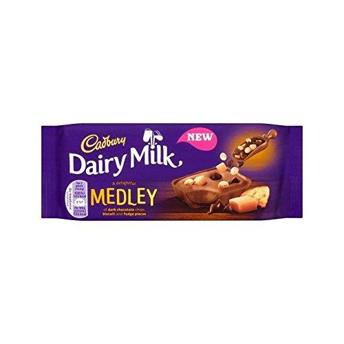 Cadbury Dairy Milk Medley Fudge 93g - Pack of 6 by Cadbury
