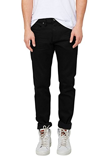 s.Oliver Herren Jeanshose 5-Pocket, Gr. W33/L32, Schwarz (grey/black denim stretch 99Z8)