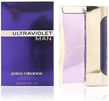 5a34c5fcb Amazon.com : Ultraviolet Men Eau-de-toilette Spray by Paco Rabanne, 3.4  Ounce : Beauty
