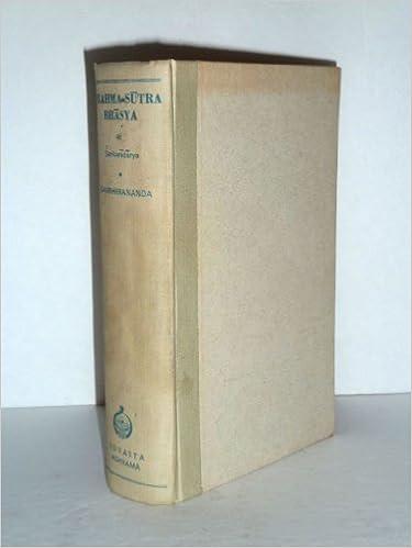 Ebook gratis download ita Brahma-Sutra-Bhasya of Sri Sankaracarya ePub