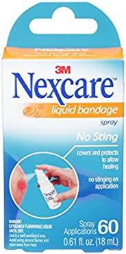 Nexcare No-Sting Liquid Bandage, 18ml
